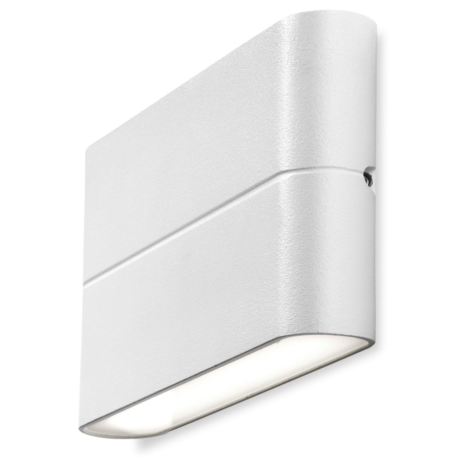 Faretti Muro Esterno: Applique a parete doppia emissione da esterno plafoniera lampada ....