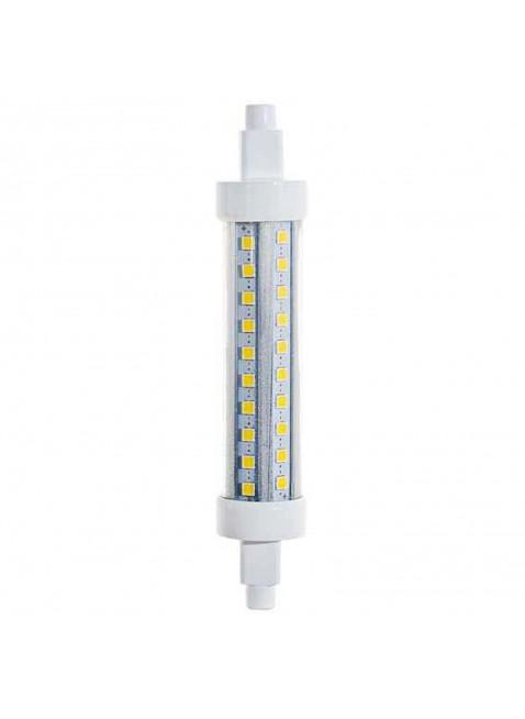 Lampada Faro Faretto Lampadina R7s 60 LED 10 Watt LIFE Luce Bianca Calda 3000 K