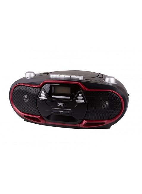 Stereo Chiavetta USB CD Mp3 Portatile Registratore riproduttore cassette Trevi