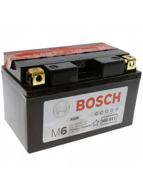Batteria Bosch Moto Scooter  YTZ10S-4 YTZ10S-BS Tensione 12V Cpacità 8Ah