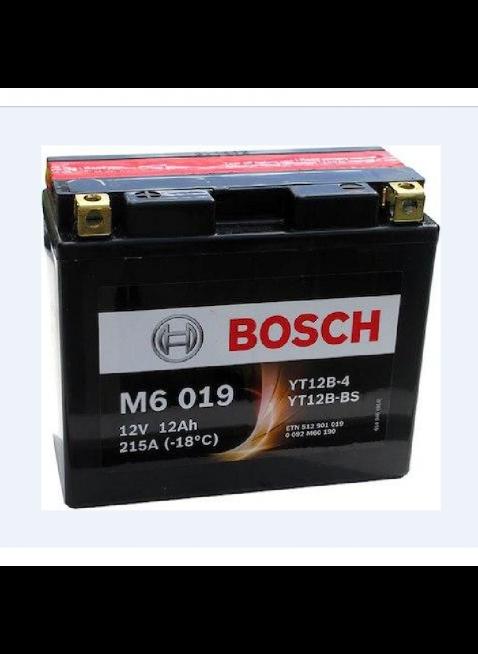 Batteria Bosch YT12B-BS sigillata con Acido per Moto Cross 12V 11Ah