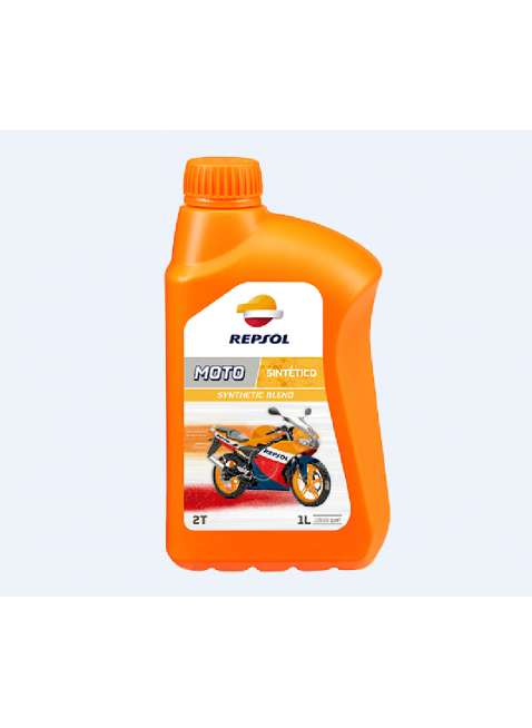 Olio per Moto a 2 Tempi Repsol Sintetico Protezione Usura 1 litro