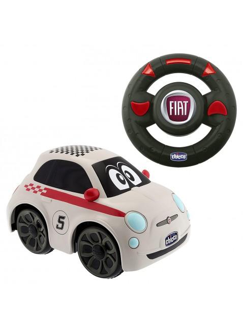 Fiat 500 Sport Macchinina Telecomandata Bimbo Chicco Clacson Rombo Motore