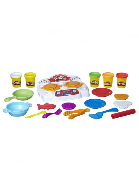 Cucina con Play Doh Crea Piatti Prelibati con Pasta da Modellare Colorata