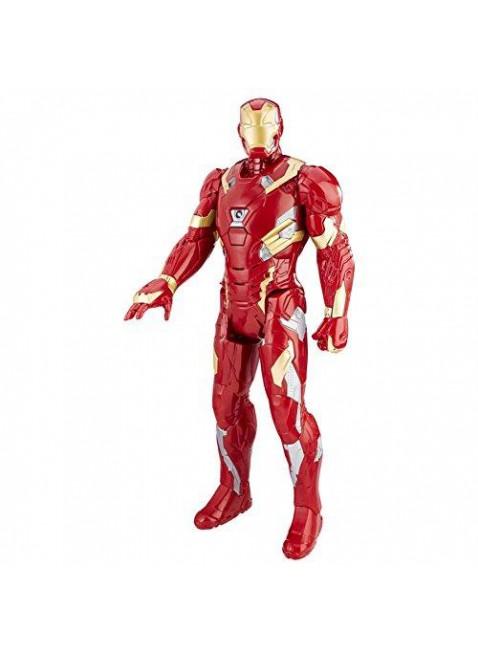 Iron Man Avengers Marvel Personaggi 30 cm Elettronico Frasi Parlante