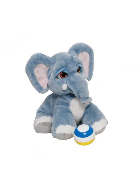 Lolly L' Elefantino Peluche Interattivo Chiude Occhi Abbassa Orecchie Peluche