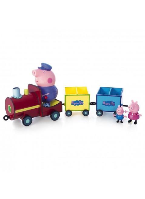 Il Treno di Nonno Pig Peppa con Peppa Pig e George Giochi Preziosi