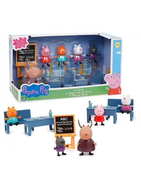 La Classe di Peppe Pig con Pupazzetti Giochi Preziosi