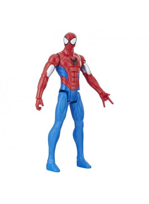 Hasbro Marvel Spiderman Figurine Titan Spider Armatura 30 cm snodato Realistico