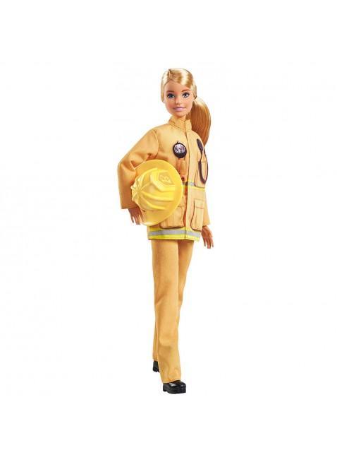 Mattel Barbie Carriere Iconiche Pompiere Edizione Esclusiva per 60° Anniversario