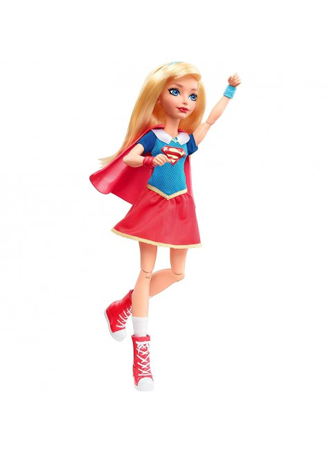 Mattel DC Super Hero Girls Bambola SuperGirl 30.5 cm DLT63 Vestito Supereroe