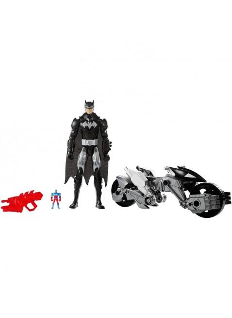Mattel Batman vs Superman Batman DXX16 Moto Motocicletta Giocattolo Bambino