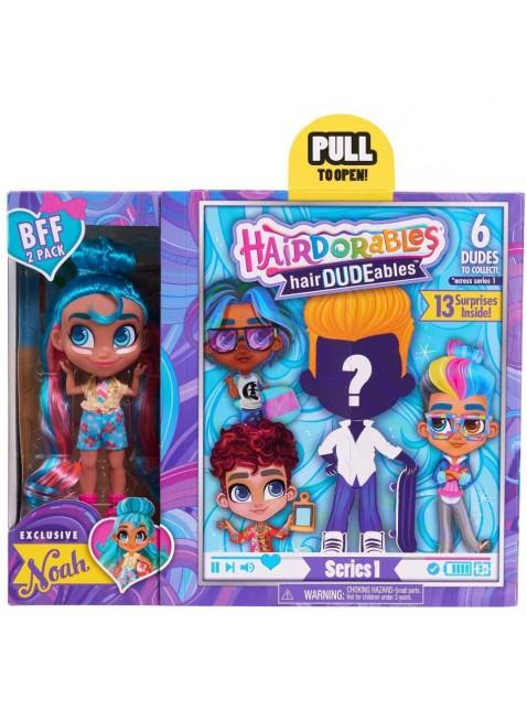 Hairdorables BFF Multicolore Mini Bambola Personaggi Assortiti Bambina HAA06000