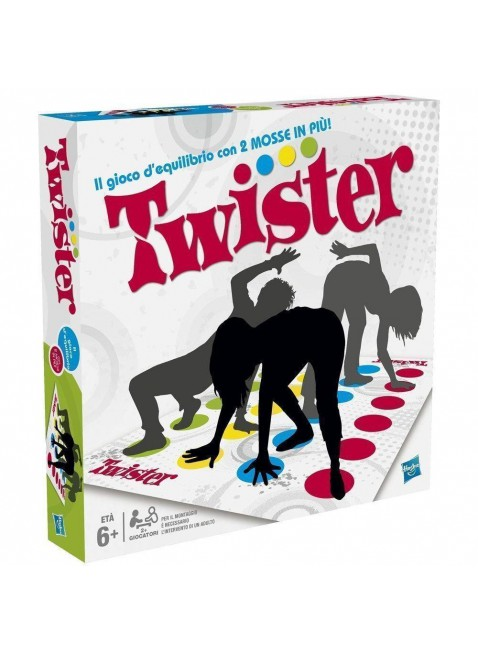 Hasbro Twister Refresh Gioco di Società per Ragazzi dai 6 Anni Skill Games 98831