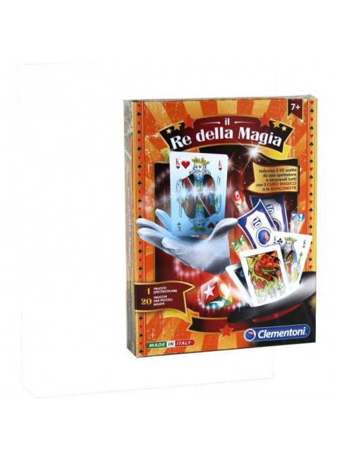Clementoni 12938 Il Re della Magia Gioco Di società Illusione da 7 Anni Bambini