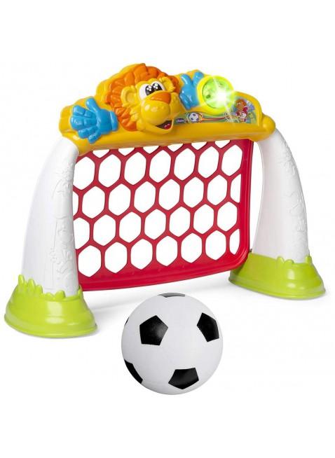 Chicco Gioco Porta Calcio Palla Goal League Pro Elettronica 2-5 Anni Bambini