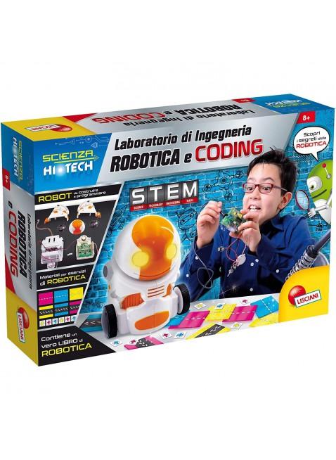 Liscianigiochi Scienza Hi Tech Laboratorio di Ingegneria Robotica Multicolore