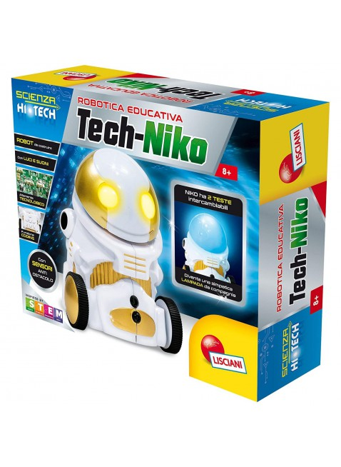 Lisciani Giochi I'm A Genius 63901-Scienza Hi Tech-Niko Lamp Robot 63901