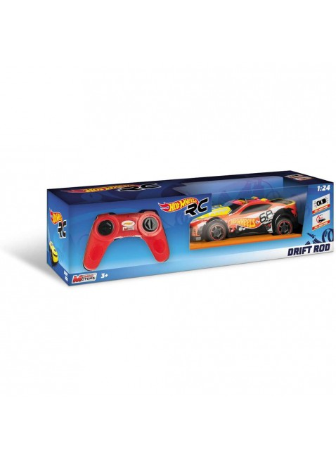 Mondo Motors Hot Wheels Drift Rod macchina radiocomandata per bambini Scala 1:24