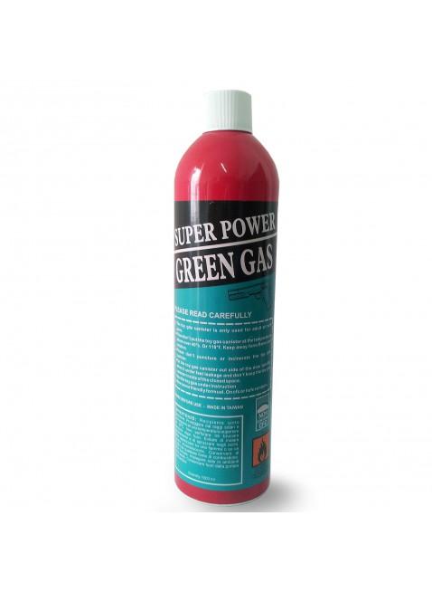 BOMBOLETTA BOMBOLA RICARICA GREEN GAS SUPER POWER PER SOFTAIR SOFT AIR DA 1000ML