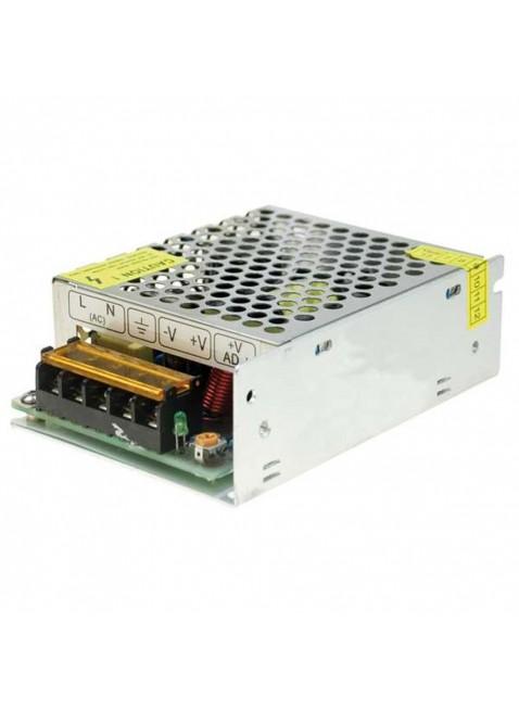 Alimentatore Switching Metallico 12 Vdc 5A 60 W Videosorveglianza Illuminazione