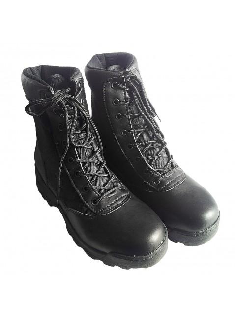 Anfibi Stivali Militari Scarpe Scarponi Anfibio Softair Caccia Neri Taglia 46