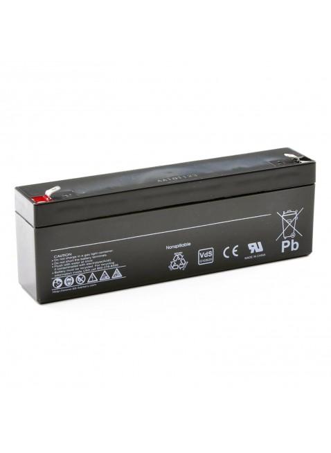 Batteria Al Piombo 12V 12 Volt Ermetica 2Ah Ups Videosorveglianza Allarme Ups