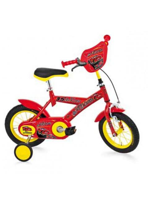 "Bicicletta Bambino BMX Bici Bimbo 12"" Wroomm Rosso Made in Italy"