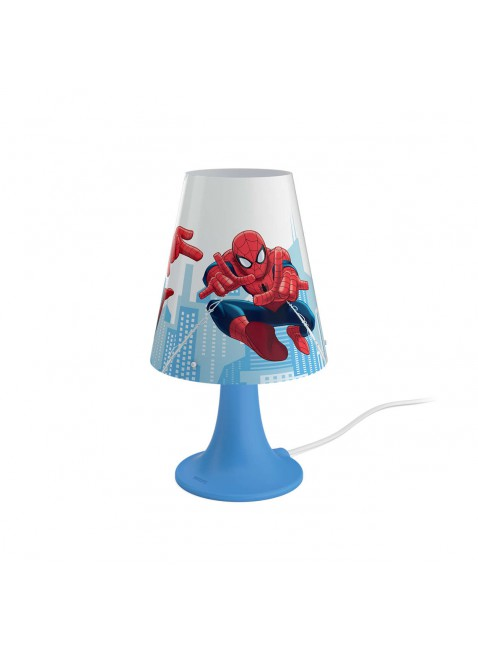 Lampada da Tavolo a Led Philips Spiderman Blu
