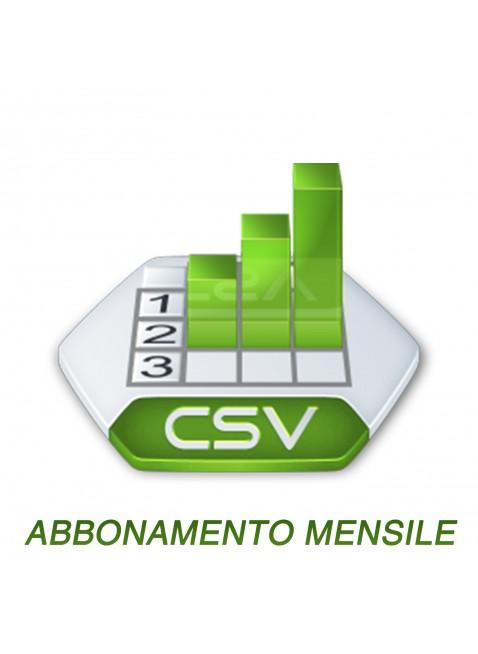 CSV Catalog 1 Mese
