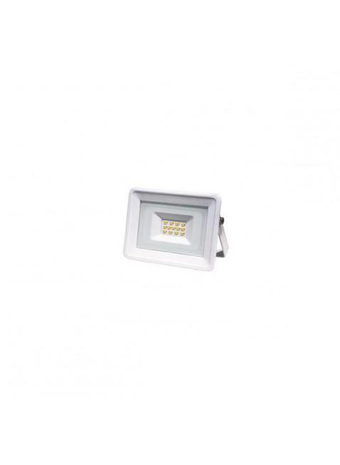 Faretto Proiettore Sottile Led Smd 10 W Luce Bianca Calda 3000 K 800 Lumen