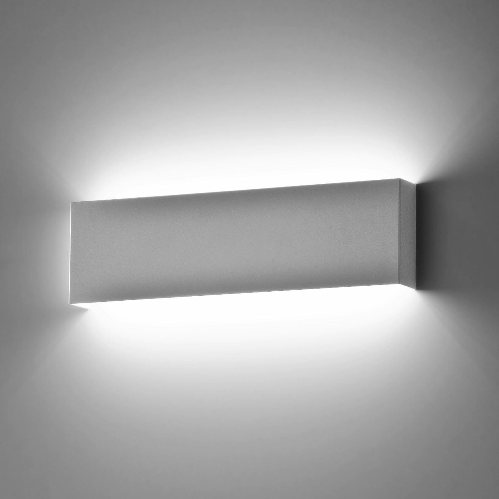 Plafoniera applique da parete muro lampada isyluce 901 moderno design bianco 18w - Specchio camera da letto leroy merlin ...