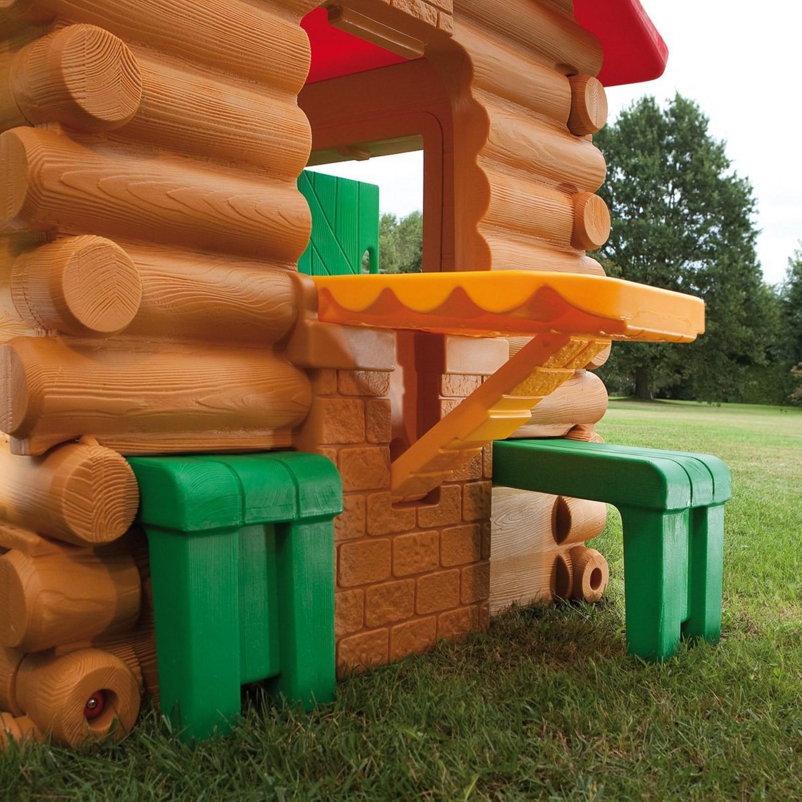 Casetta per bambini bambino da esterno chicco chalet mondo for Casetta giardino bimbi usata