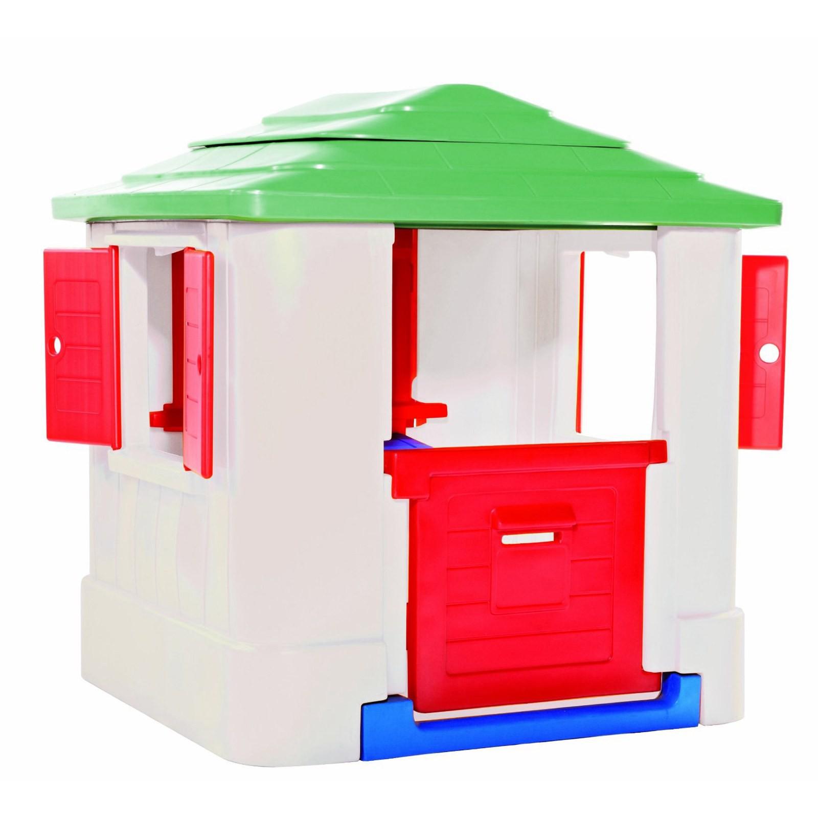 Casette per bambini da giardino smoby jura lodge with for Casetta giardino chicco