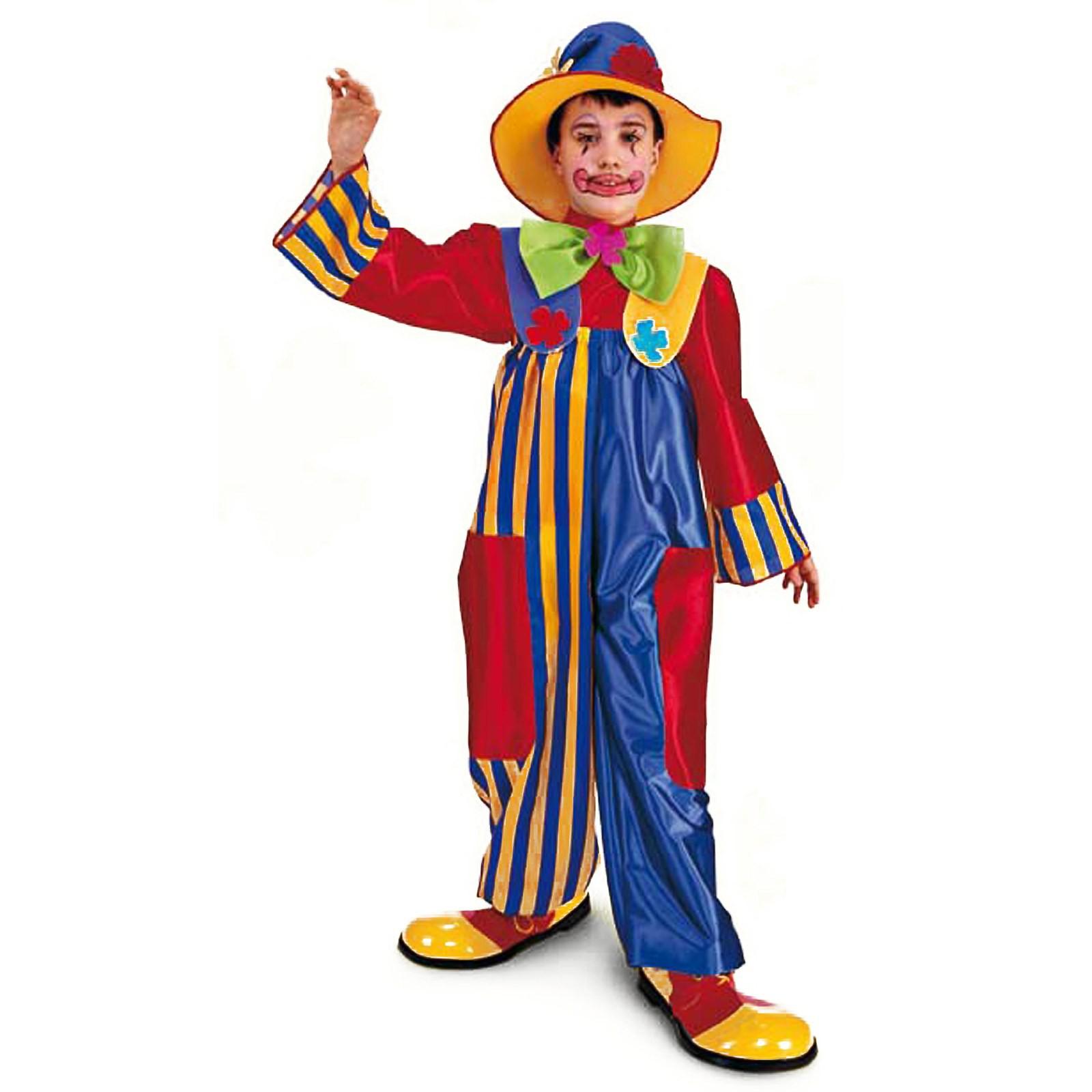 Di Per 6 5 Vestito Bambino Pagliaccio Clown Righello Anni Carnevale SEadgZq