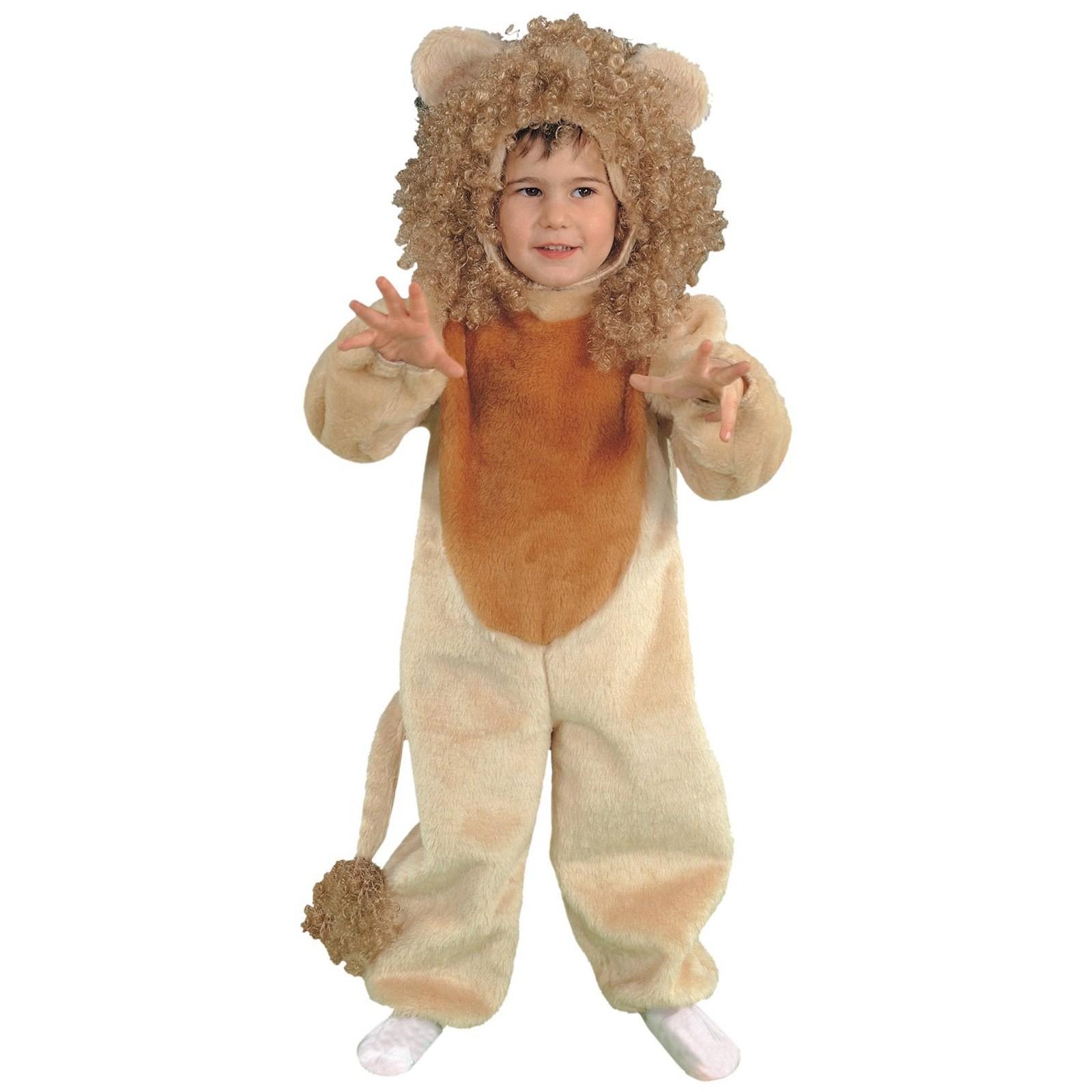 come comprare bene fuori x acquista l'originale Costume di Carnevale per Bambino Neonato Peluche Leone ...