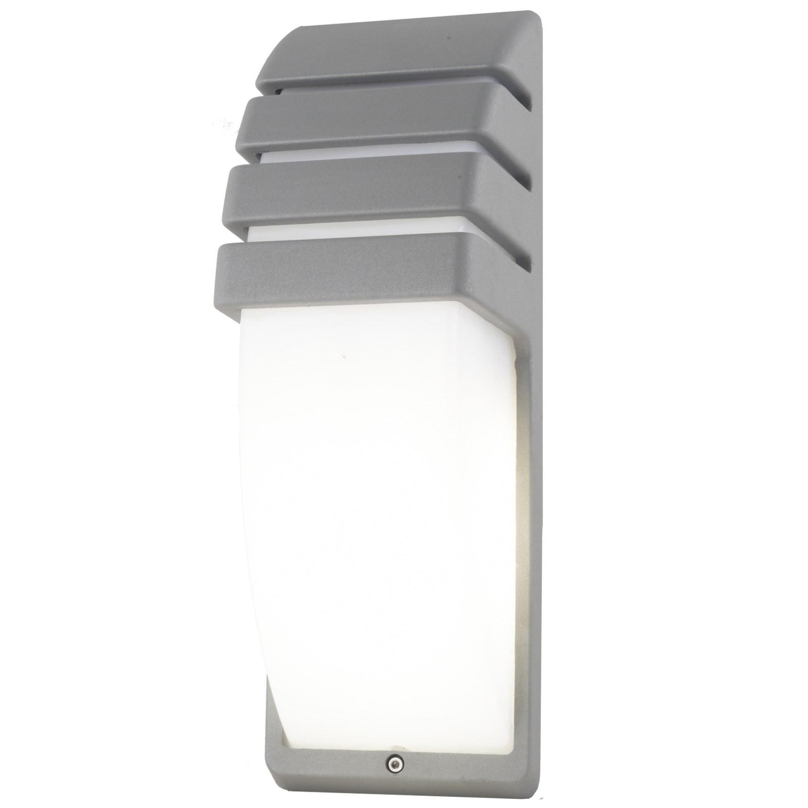 Lampada da esterno plafoniera applique led e27 parete for Lampadine led e27 da esterno