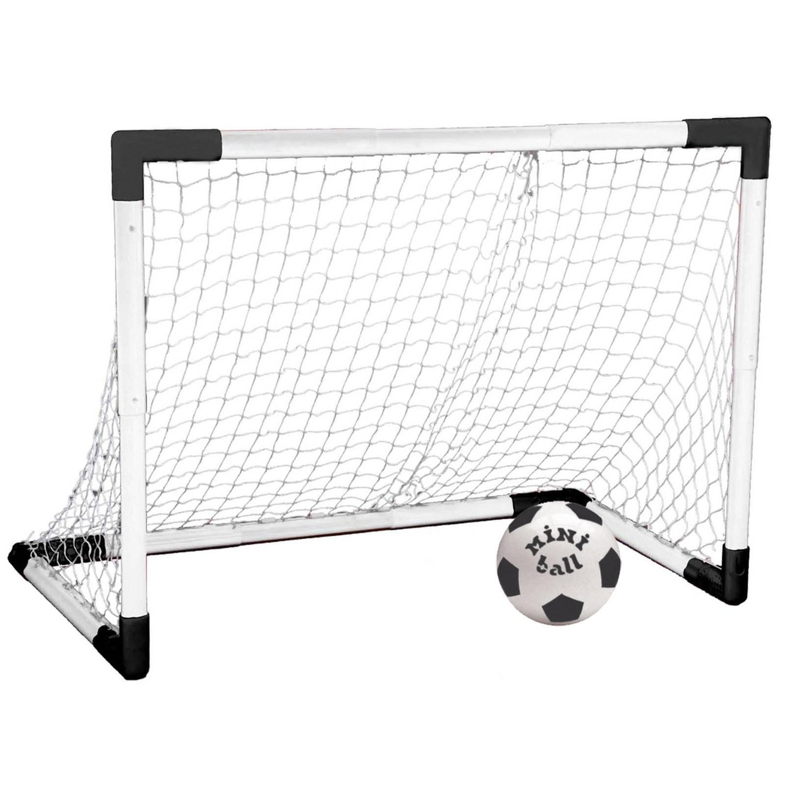 Set porta calcio rete smontabile trasportabile calcetto - Rete porta da calcio ...