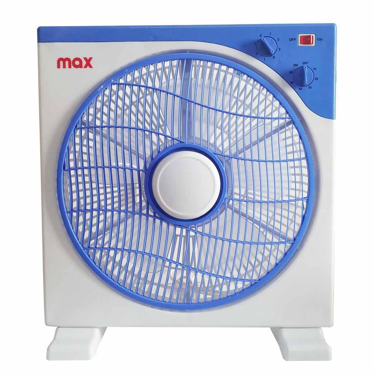 Ventilatore da tavolo con timer 45w 3 velocit azzurro - Ventilatore da tavolo silenzioso ...