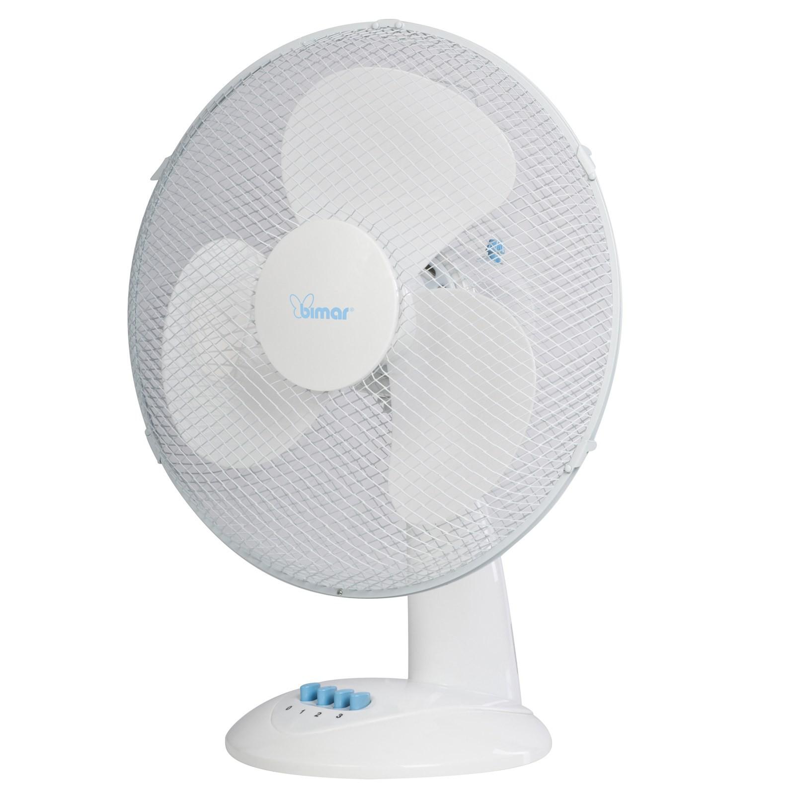 Ventilatore da tavolo oscillante a pale 30 cm 3 velocit bimar - Ventilatore da tavolo silenzioso ...