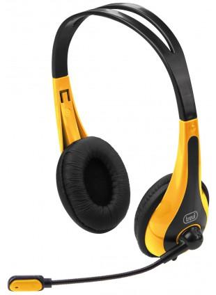 Cuffie Stereo per PC e Notebook Trevi Giallo SK 644 S