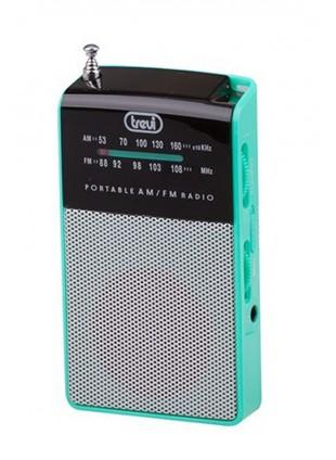 Radio portatile Am/Fm In Vintage Speaker Presa cuffia Trevi 57x97x20 mm Verde
