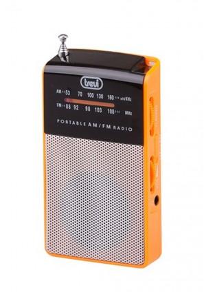 Radio portatile Am/Fm In Vintage Speaker Presa cuffia Trevi 57x97x20 mm Arancio