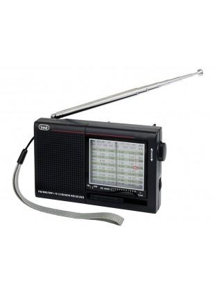 Radio 8 bande Ingresso auricolari Cuffia Trevi Nero Audio Radio FM AM Portatile