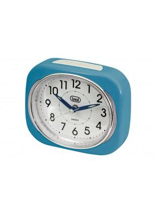 Orologio sveglia al quarzo Trevi Blu Display Suoneria Per casa Design Ufficio