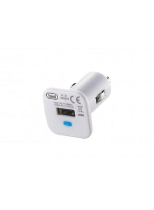 Caricabatterie USB x auto Trevi Smartphone Ipod Mp3 Cellulare Adattatore Carica