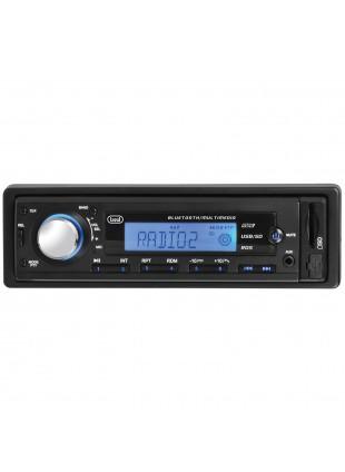 AUTORADIO CON BLUETOOTH SENZA FILI PER SMARTPHONE LETTORE MP3 RADIO FM NEW TREVI
