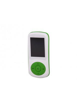 LETTORE MP3 VIDEO WMA WAV AUDIO RADIO FM MICRO SD USB TREVI MPV 1730 VERDE NUOVO