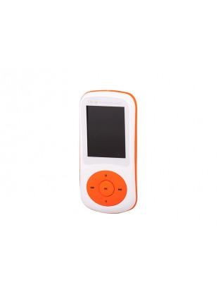 LETTORE MP3 VIDEO WMA WAV AUDIO RADIO FM MICRO SD USB TREVI MPV 1730 ARANCIONE