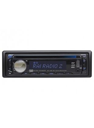 AUTORADIO CON MP3 USB MEMORIA SCHEDA SD CARD AUX 160 WATT 1 DIN TREVI XDC 5760